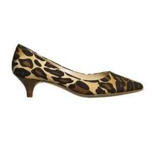 Mossimo NWT leopard heels